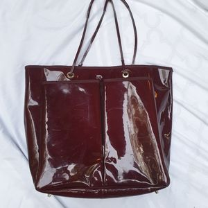 Anya Hindmarch Bags - Anya Hindmarch burgundy tote